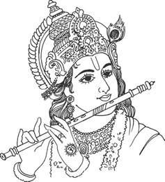 Outline Pictures Of God Krishna by Clipart God Images God Clip Pictures God Clipart Black And White God Cliparts Vector