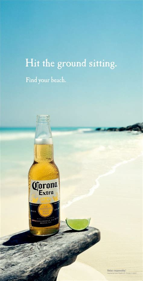corona find  beach print ad advertising ideas
