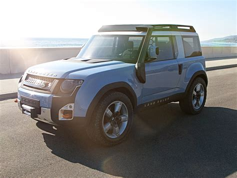 land rover concept land rover scared of chinese clones will skip defender