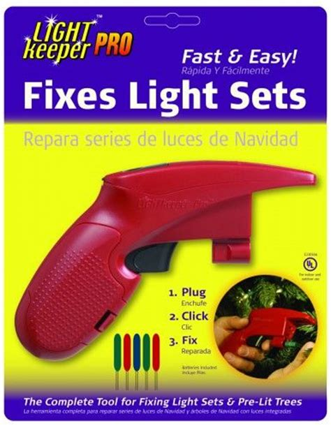 holiday light repair gun light diagram light fixer