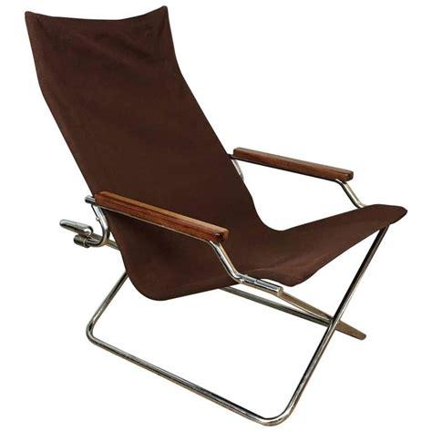 Folding Sling Chair by Suekichi Uchida Folding Sling Chair For Sale At 1stdibs