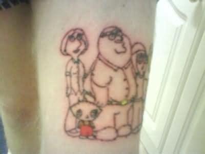 family guy tattoo family