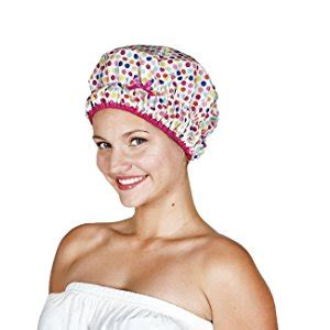 Shower Cap Hello Hati betty dain socialite collection terry lined