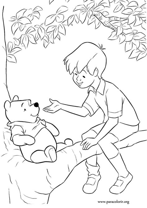 coloring pages of christopher robin 5 winnie the pooh christopher robin coloring pages
