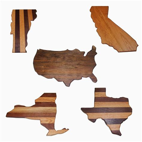 Buy a Hand Made United States Cutting Boards, All States