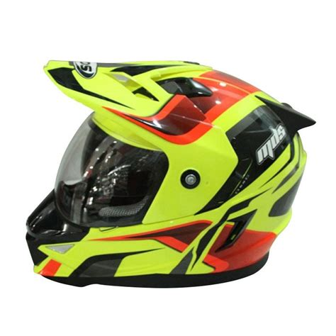 Mds Pro Seri 2 jual mds pro 2 yellow fluo helm black harga kualitas terjamin