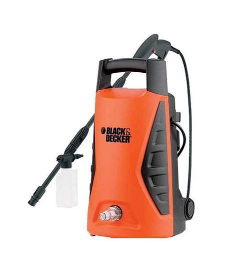 black decker india black decker pw 1370td 100 bar pressure washer price in
