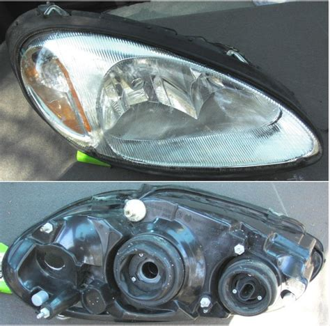pt cruiser teardrop lights headlight assemblies