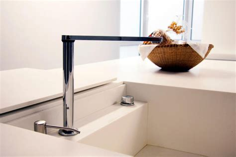 Sink With Hidden Faucet Modern Kitchen Other Metro