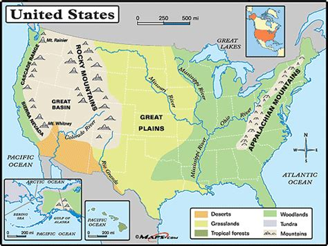 printable map of the united states with legend great plains physical map google search social studies
