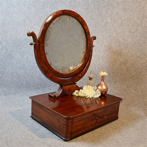Antique Mirror Vanity by Antique Mirror Georgian Jewelry Box Dressing Vanity Swing