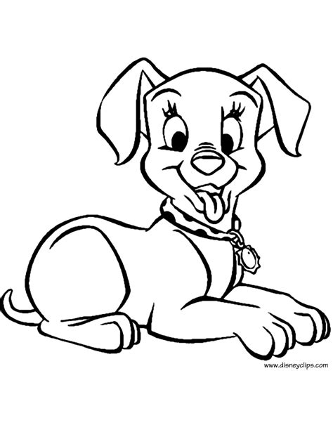 dalmatian puppies coloring pages 101 dalmatians coloring pages disney coloring book
