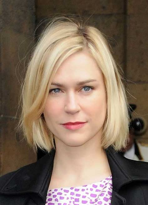 bobs no bangs 15 best bob hairstyles for oval faces bob hairstyles
