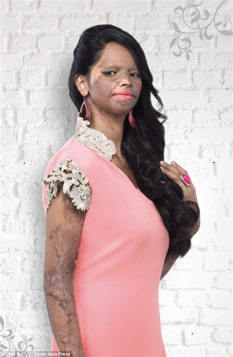 Wardrobe Of Indian Models by Acid Attack Survivor Laxmi Saa Is The New Of Viva N