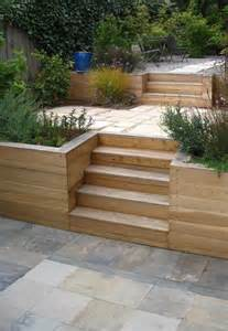 Retaining Wall Stairs Ideas by Terraced Garden Retaining Wall Bay Area Back Yard