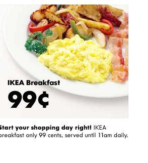 ikea breakfast ikea the fine print sacratomatoville post