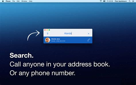 Ats Detox Phone Number by Dockphone Call Anyone Via Your Iphone Right From Your Mac