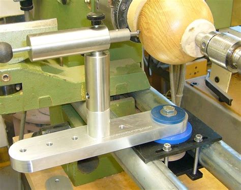 sphere jig  bed bar lathe wood turning wood