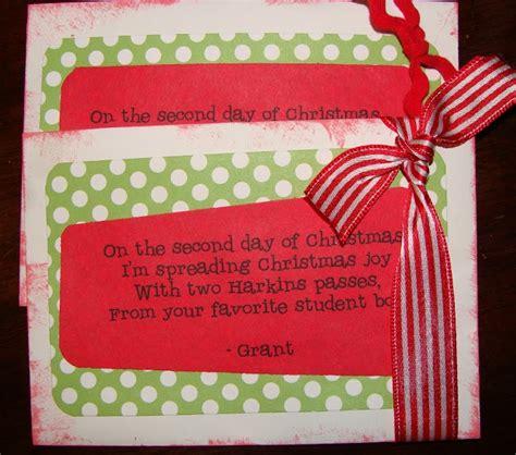 fun rhyming 12 days of christmas gift ideas teachers