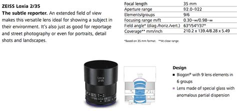 Hemat Lensa Zeiss Loxia 2 0 50 Manual Frame Lenses For Sony picture and specs of the rumored zeiss loxia 50mm f 2 0 planar frame manual focus