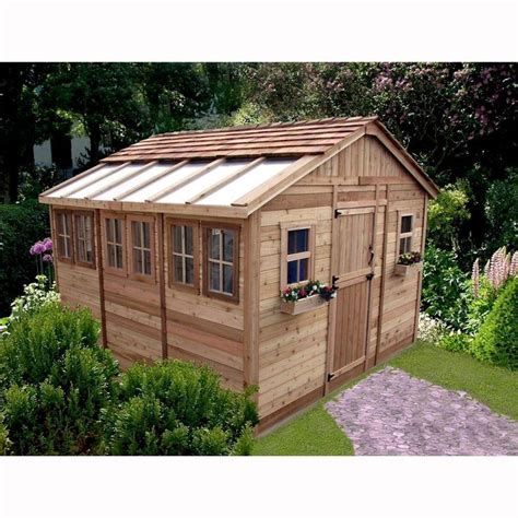 Shed Ventilation Home Depot by Outdoor Living Today Sunshed 12 Ft X 12 Ft Western