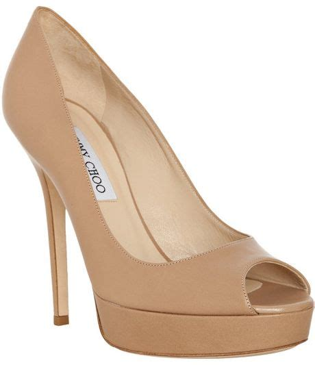 jimmy choo tan suede meringue platform peep toe pumps in jimmy choo peep toe platform pumps hot girls wallpaper