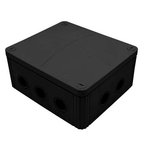Junction Box 80x80x45 Black waterproof junction box 160mm 10 way black mr resistor lighting