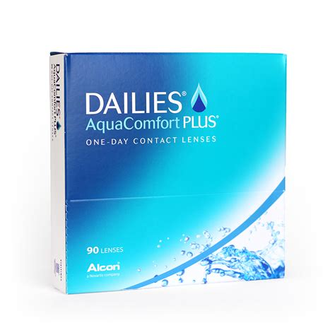 aqua dailies comfort plus 90 dailies aqua comfort plus 90 daily disposable contact lenses