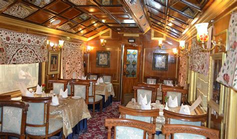 dining on wheels palace on wheels pictures image gallery of luxury train