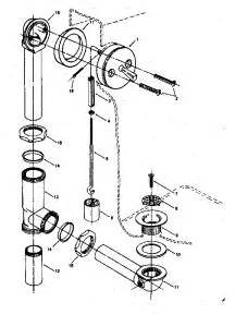 drain diagram parts list for model 738675001 sears parts