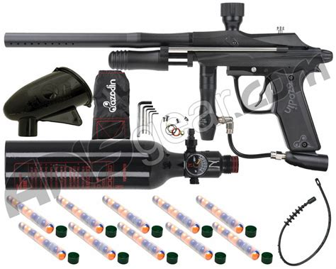 Kaos Valve azodin 2011 kaos paintball gun w tank pocket