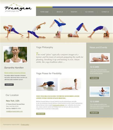 website templates for yoga yoga website template 20565