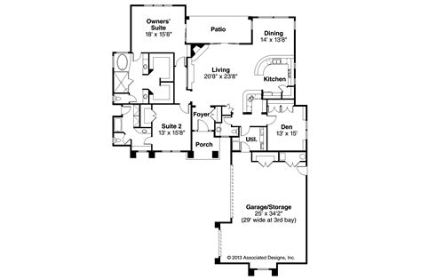 Floor Plans Florida by Florida House Plans Suncrest 30 499 Associated Designs