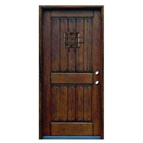 home depot wood exterior doors doors without glass wood doors the home depot