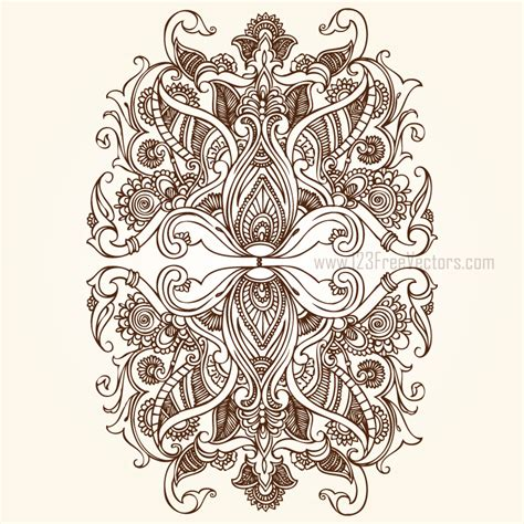 design ornaments floral ornaments by 123freevectors on deviantart