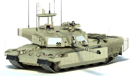 challenger 2 in challenger 2 mbt tank 3d max