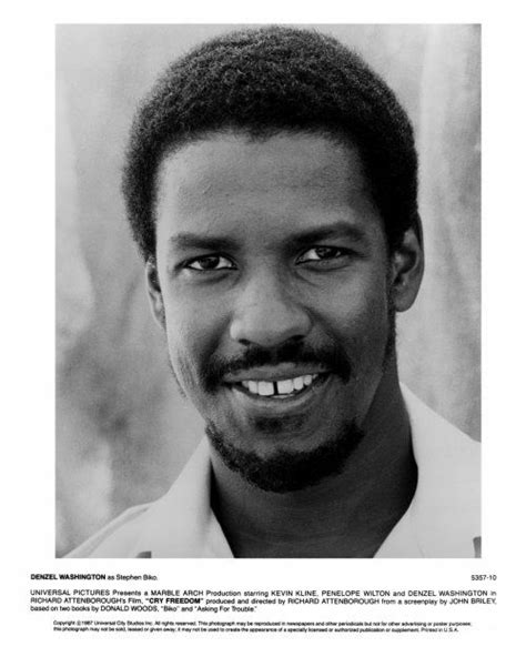 denzel washington gap denzel washington dans quot cry freedom quot pourquoi a t il