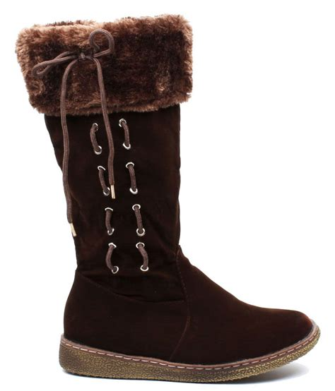 foot brown slouch boots price in india buy foot