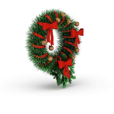 christmas holly wreath  model ds max files
