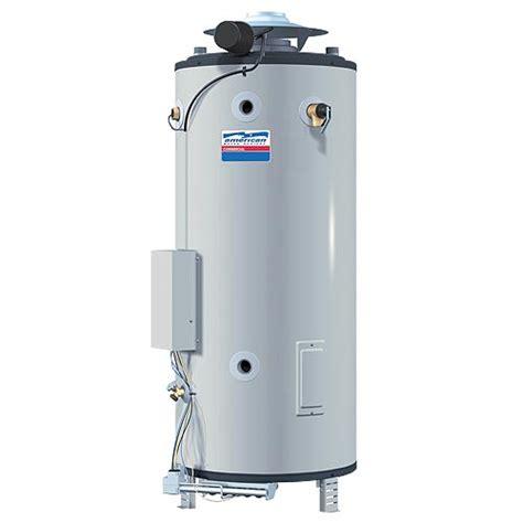 Water Heater American Water Heaters Bcg 95 Gallon Commercial Gas