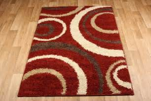 Brown And Cream Rug Aura Red Brown Cream Rug 3922c Martin Phillips