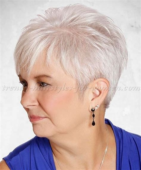short behind the ear haircuts for 50 women 285 best hairstyles for women over 50 images on pinterest
