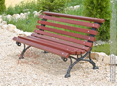 iron and wood bench cast iron and wood park bench 701 fr
