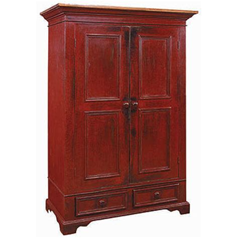 clothes armoire with hanging rod french country garde robe armoire wardrobe armoire with