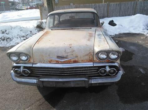 Chevy 4 Door by 1958 58 Chevrolet Chevy Biscayne 4 Door