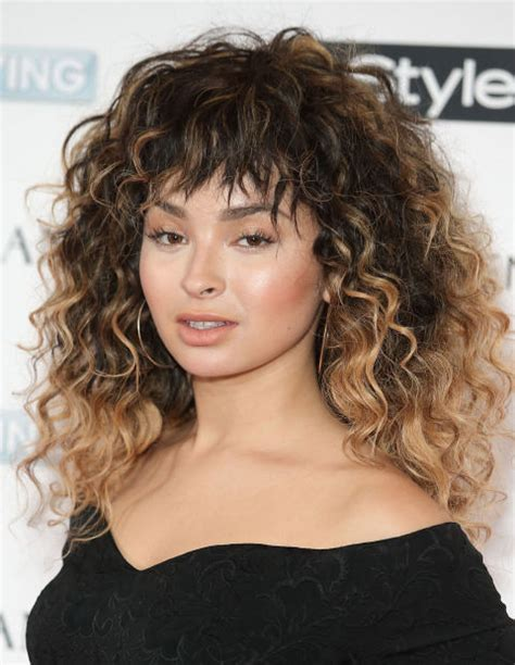 haircuts for long curly hair with bangs 4 bangs hairstyles to bang or not to bang fashion tag blog