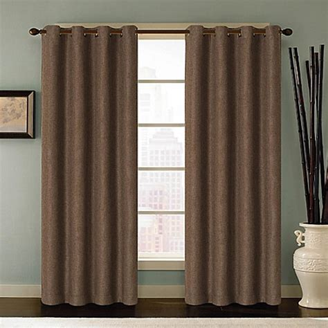 95 curtain panel buy reina 95 inch grommet top window curtain panel in