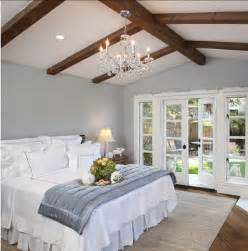 Luxury Home Interior Paint Colors by Exposed Roof Beams In 15 Bedroom Designs Sherwin William