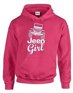 jeep sweatshirt hoodie for jeep pink with white