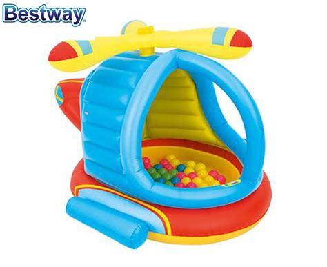 Promo Helicopter Ballpit bestway helicopter pit 6942138934694 ebay
